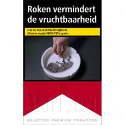 8.Sigaretten (alleen in combinatie met 20 euro aan drank)